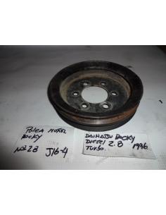 Polea motor Daihatsu Rocky Diesel 2.8 1996 Turbo