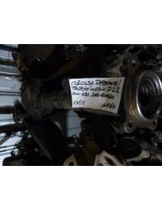 Carcasa diferencial trasero Nissan D22 sin ABS solo carcasa