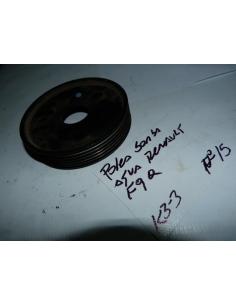Polea bomba de agua Renault motor F9Q