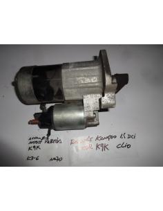 Arranque motor de partida Renault Kangoo 1.5 diesel CDI motor K9K