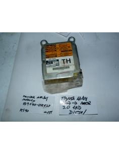 Modulo central airbag Toyota Hilux 2007 en adelante motor 3.0 1KD codigo : 89170-0K130