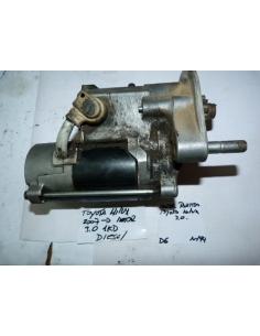 Motor de partida arranque Toyota Hilux diesel 3.0 motor 1KD 2007 en adelante