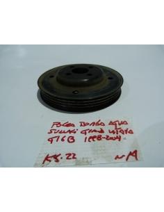 Polea bomba agua Suzuki Grand Vitara 1998 - 2004 G16B