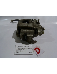Caliper Freno Trasero Derecho Nissan Juke 2012 - 2016