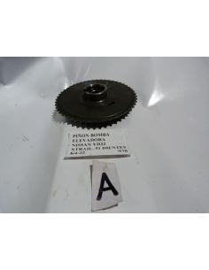 Piñon bomba elevadora Nissan YD22 Xtrail 52 dientes