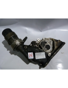 Base inferior distribucion enfriador Hyundai 1.5 D3EA Accent Exel Matrix 3 Cilindros