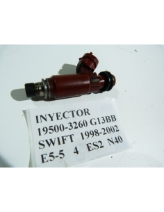 Inyector 19500-3260 G13BB Suzuki Swift 1998 - 2002