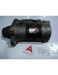 Arranque Motor Partida Nissan Xtrail Diesel 2.2 YD22 DTI 2003