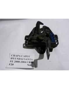 Chapa Capot Hyundai Santa Fe 2000 - 2004 CRDI