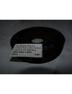 Damper polea cigueñal Hyundai Santa Fe Diesel CRDI 2000 - 2004