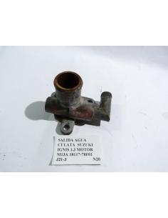 Salida agua culata Suzuki Ignis 1.3 Motor M13A 18117 - 78F01