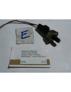 Sensor presion inyeccion 96582277880 Citroen Berlingo Diesel 1.6 HDI 2005 - 2010
