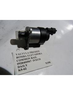 Valvula presion bomba elevadora Common Rail 0928400567 Iveco Daily