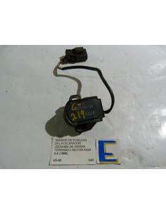 Sensor TPS posicion acelerador (sera 428 - 24) Nissan Terrano II motor K424 2.4 1996