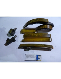 Conjunto guias cadena distribucion Nissan Xtrail Diesel 2.2 YD22 CDI TD 2005 - 2010