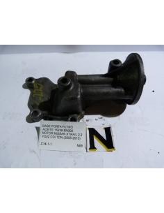 Base porta filtro aceite 15238 - BN300 Motor Nissan Xtrail 2.2 YD22 CDI TDN 2005 - 2010