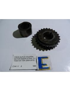 Piñon suple cigueñal motor Nissan Xtrail 2.2 YD22 CDI TDN 2005 - 2010