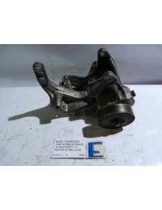 Base compresor aire acondicionado Suzuki Swift 1.3 motor G13BB 2000