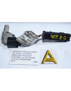 Sensor posicion arbol levas Citroen Berlingo Peugeot Partner 1.6 HDI diesel codigo: 9685443580