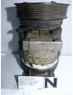Compresor aire acondicionado Renault Clio 1.6 K4M bencinero 1998 - 2007 codigo: 1135321