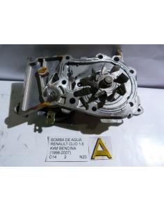Bomba de agua Renault Clio 1.6 K4M bencina 1998 - 2007