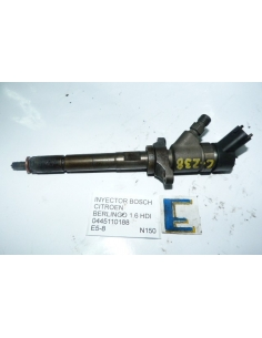 Inyector Bosch Citroen Berlingo 1.6 HDI