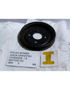 Polea bomba agua Daihatsu Charade 1.6 Motor HC