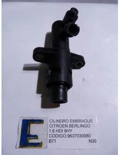 Cilindro Embrague Citroen Berlingo 1.6 HDI 9HY Codigo: 9637030980