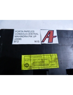 Porta papeles consola central Mahindra Pick Up 2008