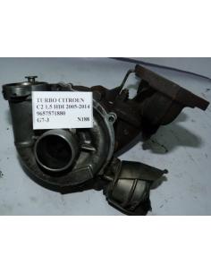 Turbo Citroen C2 1.5 HDI 2005 - 2014 9657571880