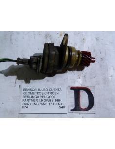 Sensor bulbo cuenta kilometro Citroen Berlingo Peugeot Partner 1.9 DW8 1998 - 2007 engran 17 diente