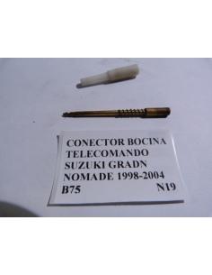 Conector bocina telecomando Suzuki Grand Nomade 1998 - 2004