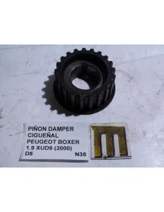 Piñon damper cigueñal Peugeot Boxer 1.9 XUD9 2000