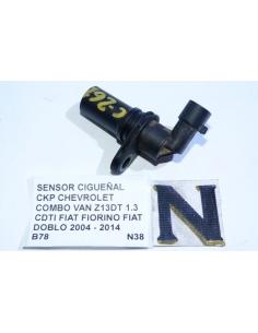 Sensor Posicion Cigueñal CKP Chevrolet Combo Van Z13DT 1.3 CDTI Fiat Fiorino Fiat Doblo 2004 - 2014