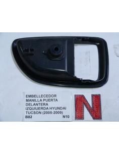Embellecedor manilla puerta delantera izquierda Hyundai Tucson 2005 - 2009