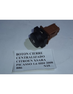 Boton cierre centralizado Citroen Picasso Xsara 1.6 HDI 2008