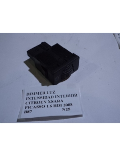 Dimmer luz intensidad interior Citroen Xsara Picasso 1.6 HDI 2008