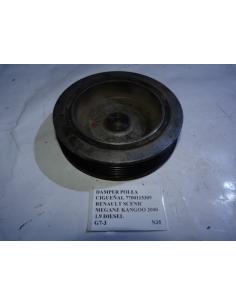 Damper polea cigueñal 7700115309 Renault Scenic Megane Kangoo 2000 1.9 Diesel