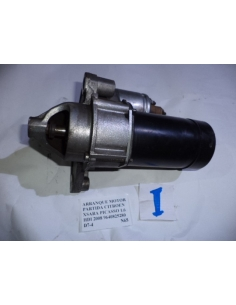 Arranque motor partida Citroen Xsara Picasso 1.6 HDI 2008 codigo: 9640825280