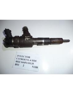 Inyector Citroen 1.4 HDI 8HZ 0445110135