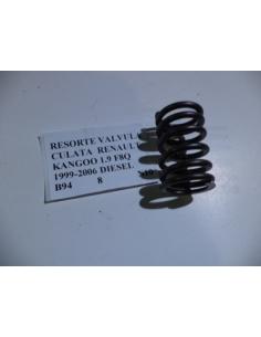 Resorte valvula culata Renault Kangoo 1.9 F8Q 1999 - 2006 Diesel