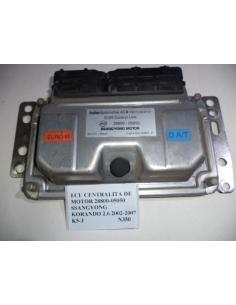 Ecu centralita de motor 28800-05050 Ssangyong Korando 2.9 2002 - 2007 4x4