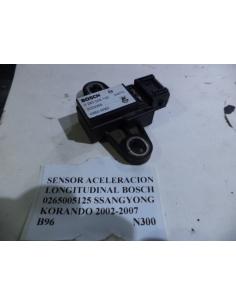 Sensor aceleracion longitudinal BOSCH 0265005125 Ssangyong Korando 4x4 2.9 2002 - 2007
