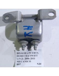 Bisagra inferior puerta derecha Suzuki Swift 1.5 GL 2006 - 2011 mecanico