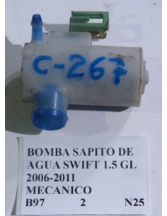Bomba sapito de agua Suzuki Swift 1.5 GL 2006 - 2011 mecanico