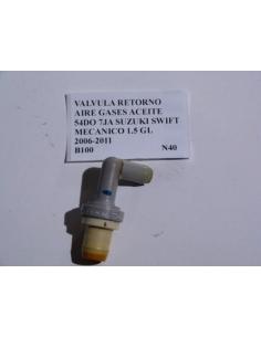 Valvula retorno aire gases aceite 54DO 7JA Suzuki Swift Mecanico 1.5 GL 2006 - 2011