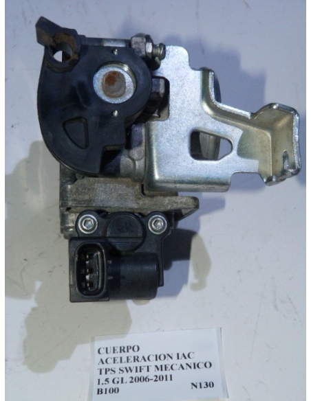 Cuerpo aceleracion IAC TPS Suzuki Swift mecanico 1.5 GL 2006 - 2011