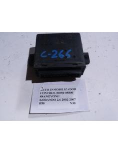 Control auto inmobilizador codigo 86950-05800 Ssangyong Korando 2.9 2002 - 2007
