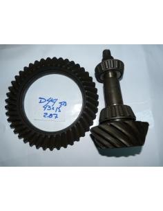 Dana44 Dana 44 43x15 2.87 Piñon y corona r&p