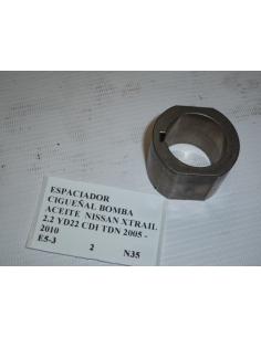 Espaciador cigueñal bomba aceite Nissan Xtrail 2.2 YD22 CDI TDN 2005 - 2010